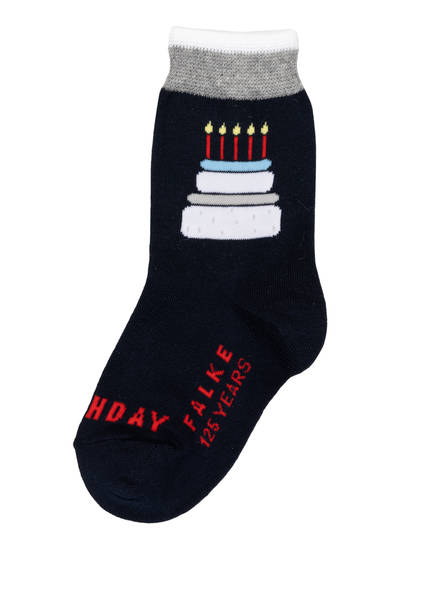 FALKE Socken HAPPY BIRTHDAY, Farbe: 6120 MARINE (Bild 1)
