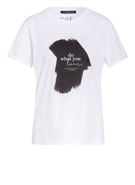 ONE MORE STORY T-Shirt , Farbe: WEISS (Bild 1)