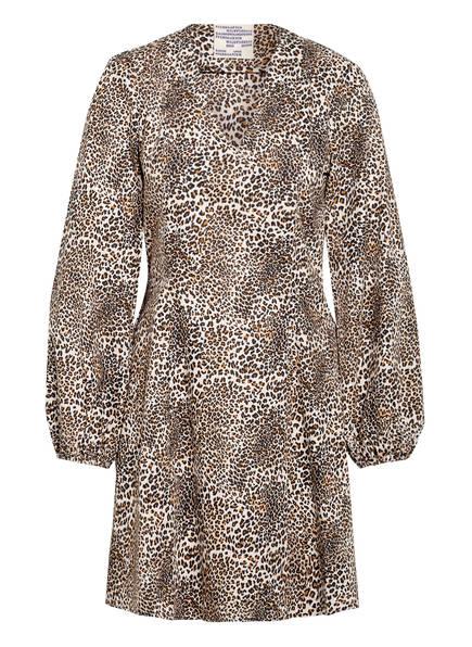 BAUM UND PFERDGARTEN Kleid ALIVIA, Farbe: CREME/ SCHWARZ/ BRAUN (Bild 1)