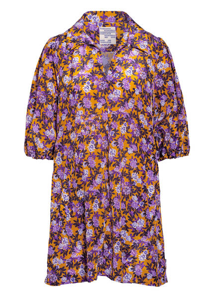 BAUM UND PFERDGARTEN Kleid AVAGAIL, Farbe: DUNKELGELB/ LILA (Bild 1)