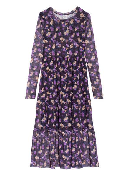 BAUM UND PFERDGARTEN Kleid JOCELINA, Farbe: LILA/ GELB (Bild 1)
