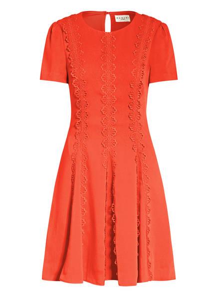 damsel in a dress Kleid TAVI mit Spitzenbesatz, Farbe: DUNKELORANGE (Bild 1)