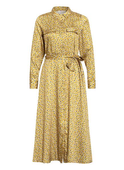 damsel in a dress Hemdblusenkleid ULRIKA, Farbe: DUNKELGELB/ SCHWARZ (Bild 1)