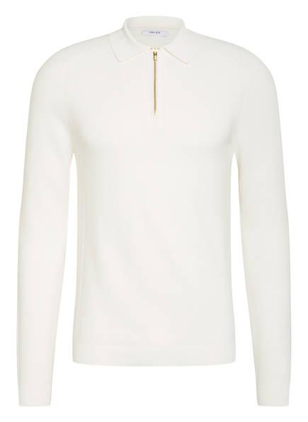 REISS Strick-Poloshirt ROMAN, Farbe: WEISS (Bild 1)