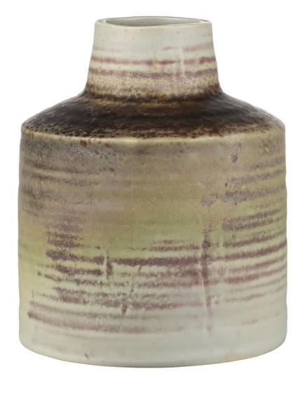 HD COLLECTION Vase, Farbe: BEIGE/ FUCHSIA/ DUNKELBRAUN (Bild 1)