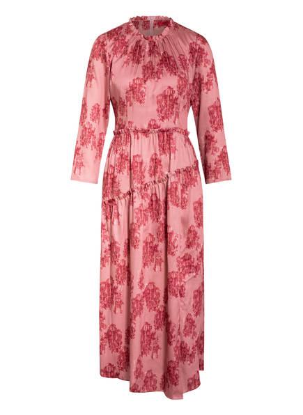 HUGO Kleid KELARE mit 3/4-Arm, Farbe: HELLROT/ DUNKELROT (Bild 1)
