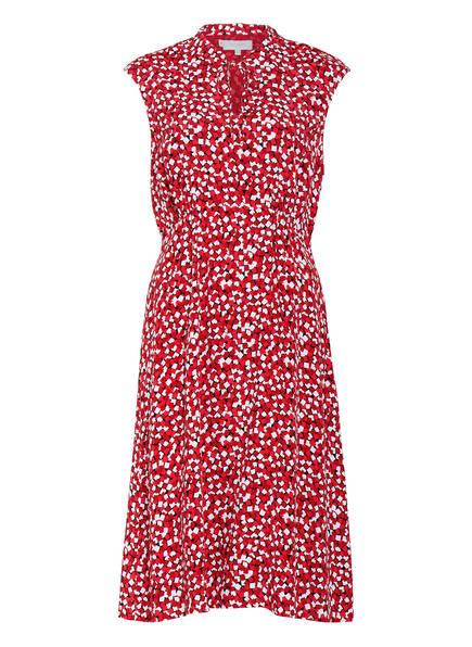 HOBBS Kleid ISABELLE, Farbe: HELLROT/ DUNKELROT/ WEISS (Bild 1)