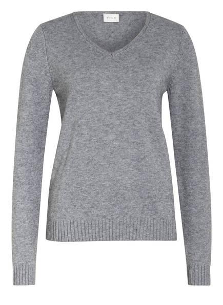 VILA Pullover, Farbe: HELLGRAU (Bild 1)