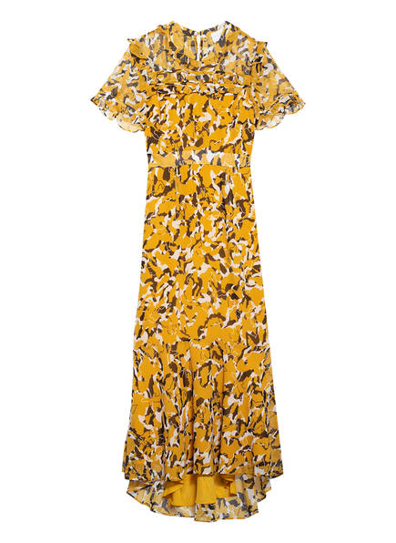 damsel in a dress Kleid LEIGH , Farbe: DUNKELGELB/ SCHWARZ/ ECRU (Bild 1)