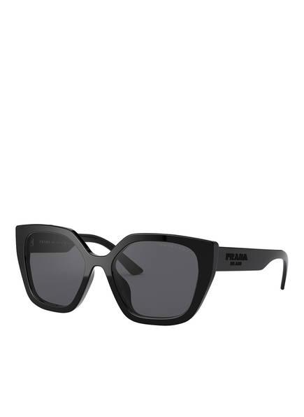 PRADA Sonnenbrille PR 24XS, Farbe: 1AB5Z1 - SCHWARZ/ GRAU POLARISIERT (Bild 1)