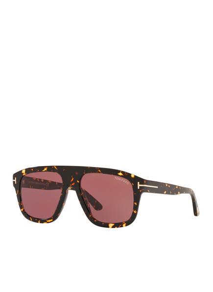 TOM FORD Sonnenbrille TR001206 THOR, Farbe: 4402U1 - HAVANA/ PINK (Bild 1)
