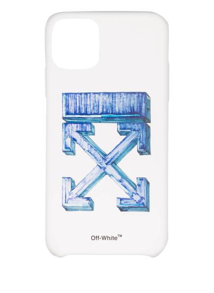 OFF-WHITE Smartphone-Hülle, Farbe: WEISS/ BLAU (Bild 1)