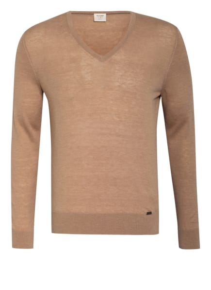 OLYMP Pullover Level Five body fit, Farbe: 57 CAMEL (Bild 1)