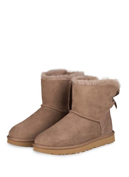 UGG Boots MINI BAILEY BOW II, Farbe: TAUPE (Bild 1)