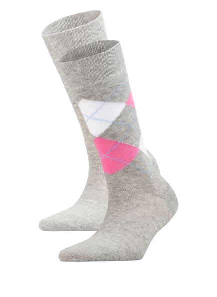 Burlington 2er-Pack Socken EVERYDAY MIX, Farbe: 3401 LIGHT GREY (Bild 1)
