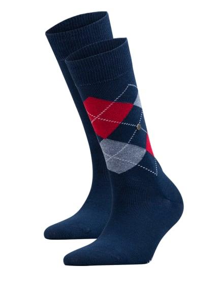 Burlington 2er-Pack Socken EVERYDAY MIX, Farbe: 6120 MARINE (Bild 1)