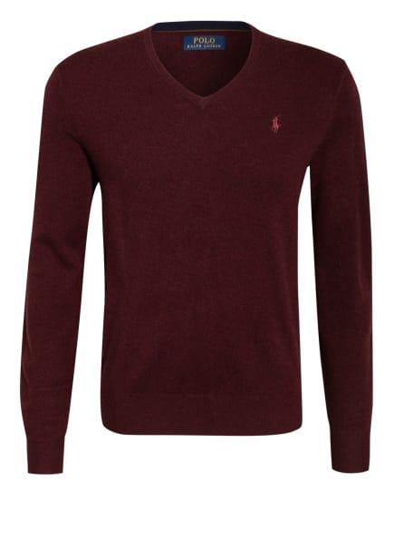 POLO RALPH LAUREN Pullover, Farbe: DUNKELROT (Bild 1)