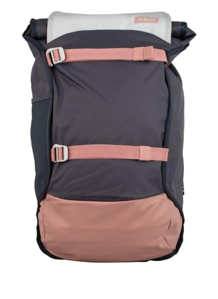 AEVOR Rucksack TRIP PACK 31 l (erweiterbar auf 33 l) mit Laptop-Fach , Farbe: DUNKELGRAU/ ROSÉ (Bild 1)