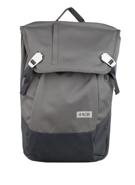 AEVOR Rucksack DAYPACK PROOF 18 l (erweiterbar auf 28 l) mit Laptop-Fach, Farbe: GRAU/ DUNKELGRAU (Bild 1)