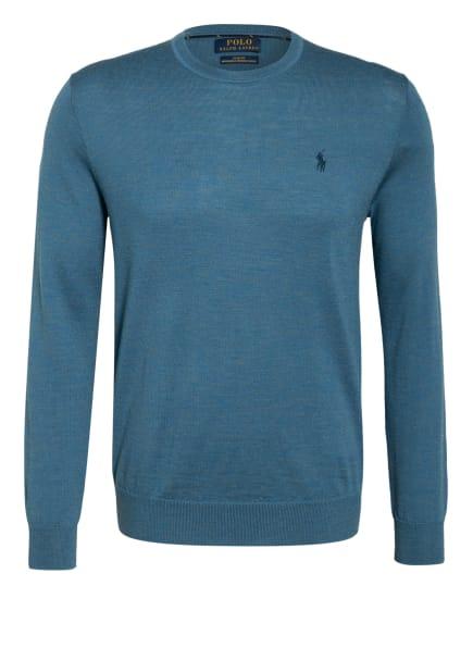 POLO RALPH LAUREN Pullover, Farbe: PETROL/ TAUPE (Bild 1)