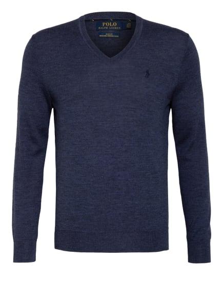 POLO RALPH LAUREN Pullover aus Merinowolle, Farbe: DUNKELBLAU (Bild 1)