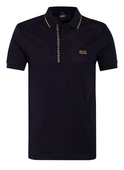 BOSS Piqué-Poloshirt PAULE Slim Fit, Farbe: DUNKELBLAU (Bild 1)
