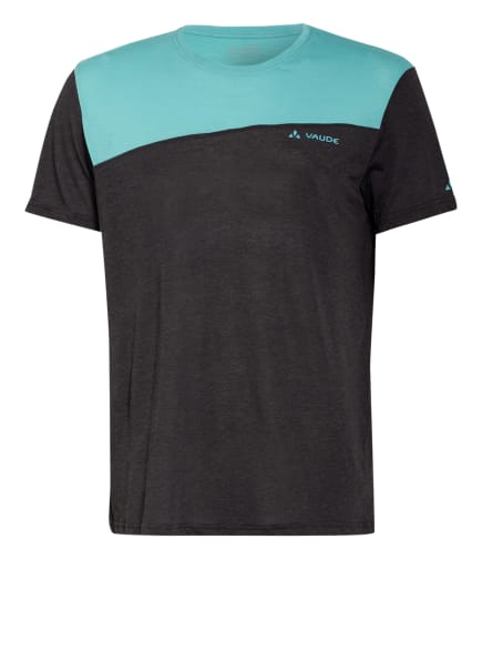 VAUDE T-Shirt SVEIT, Farbe: MINT/ DUNKELGRAU (Bild 1)