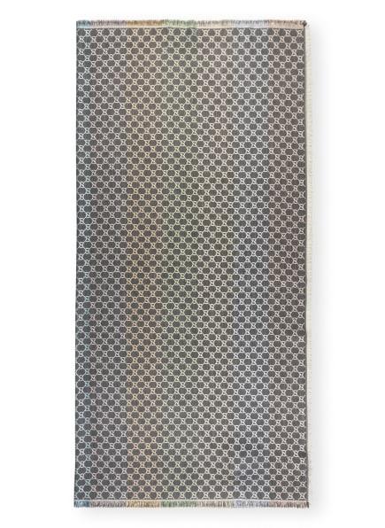GUCCI Tuch , Farbe: GRAU/ ROSÉ/ HELLGRÜN (Bild 1)