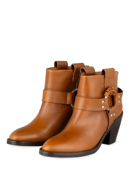 SEE BY CHLOÉ Cowboy Boots, Farbe: BRAUN (Bild 1)