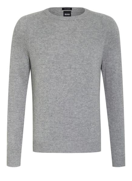 BOSS Cashmere-Pullover BANILO, Farbe: HELLGRAU/ GRAU (Bild 1)