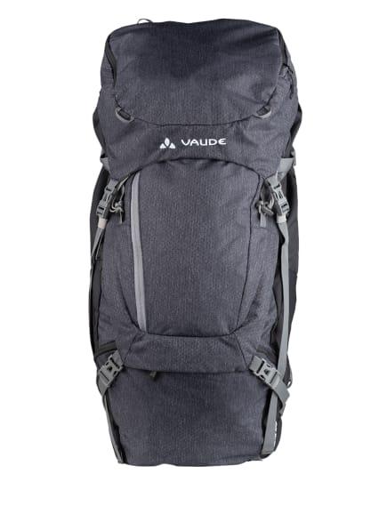 VAUDE Rucksack ASYMMETRIC 52 + 8 l, Farbe: SCHWARZ/ DUNKELGRAU (Bild 1)