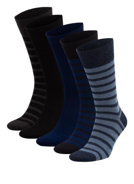 FALKE 5er-Pack Socken in Geschenkbox , Farbe: 0010 SORTIMENT (Bild 1)