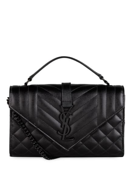 SAINT LAURENT Handtasche ENVELOPE SMALL, Farbe: SCHWARZ (Bild 1)