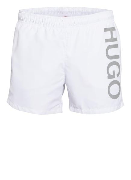 HUGO Badeshorts ABAS, Farbe: WEISS (Bild 1)