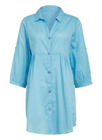 Hot Stuff Hemdblusenkleid, Farbe: HELLBLAU (Bild 1)