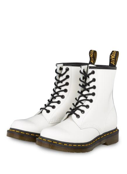 Dr. Martens Biker Boots PASCAL, Farbe: WEISS (Bild 1)
