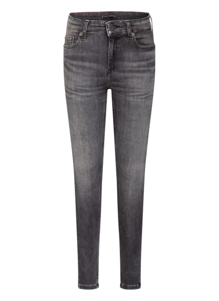 TOMMY HILFIGER Jeans SIMON Skinny Fit, Farbe: 1BY MIDNIGHT CHARCOAL BLACK STRETCH (Bild 1)