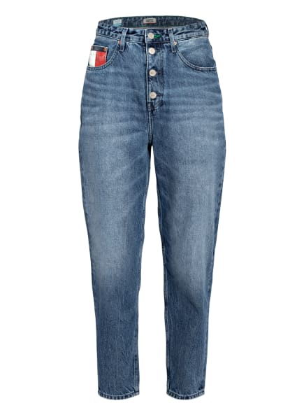 TOMMY JEANS 7/8-Mom Jeans, Farbe: 1A5 SAVE PF MID BLUE RIGID  (Bild 1)