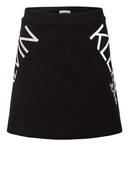 Calvin Klein Jersey-Rock, Farbe: SCHWARZ/ WEISS (Bild 1)