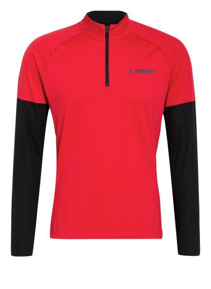 adidas Laufshirt TERREX AGRAVIC , Farbe: ROT/ SCHWARZ (Bild 1)