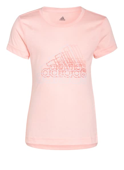 adidas T-Shirt, Farbe: HELLORANGE (Bild 1)