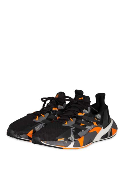 adidas Laufschuhe X9000L4, Farbe: SCHWARZ/ GRAU/ ORANGE (Bild 1)