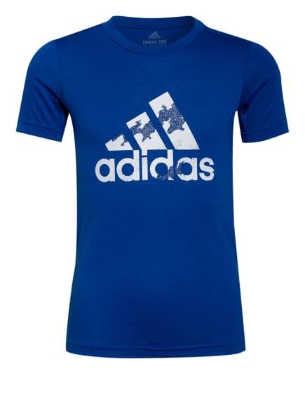 adidas T-Shirt, Farbe: BLAU (Bild 1)