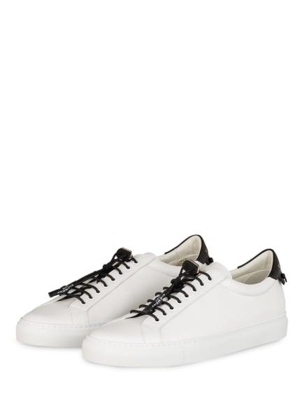 GIVENCHY Sneaker URBAN STREET, Farbe: WEISS/ SCHWARZ (Bild 1)