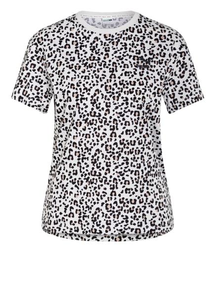 PUMA T-Shirt CLASSICS, Farbe: BEIGE/ SCHWARZ (Bild 1)
