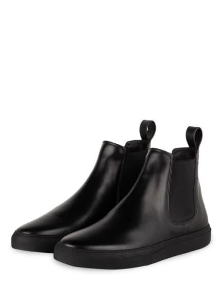 VALENTINO GARAVANI Chelsea-Boots VLTN, Farbe: SCHWARZ (Bild 1)