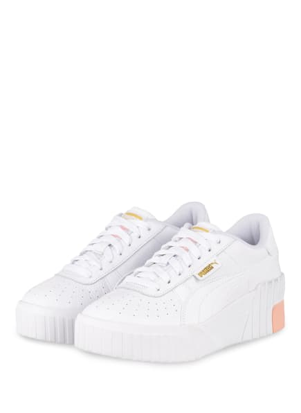 PUMA Plateau-Sneaker CALI WEDGE, Farbe: WEISS/ NUDE (Bild 1)