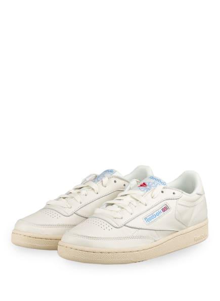 Reebok CLASSIC Sneaker CLUB C 85, Farbe: CREME (Bild 1)