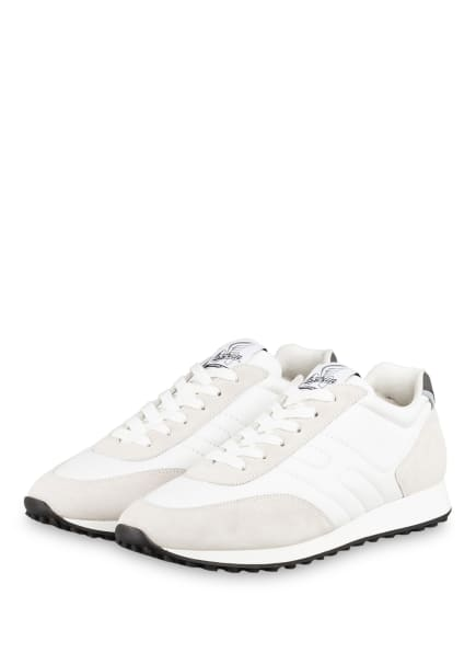 HOGAN Sneaker H429, Farbe: WEISS/ HELLGRAU (Bild 1)