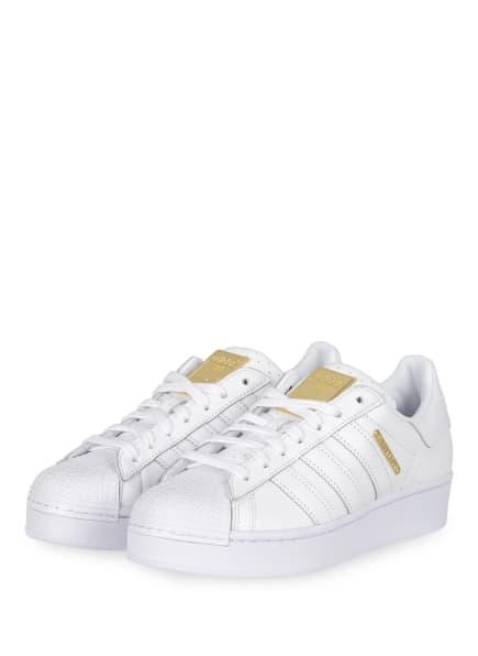 adidas Originals Plateau-Sneaker SUPERSTAR BOLD, Farbe: WEISS (Bild 1)